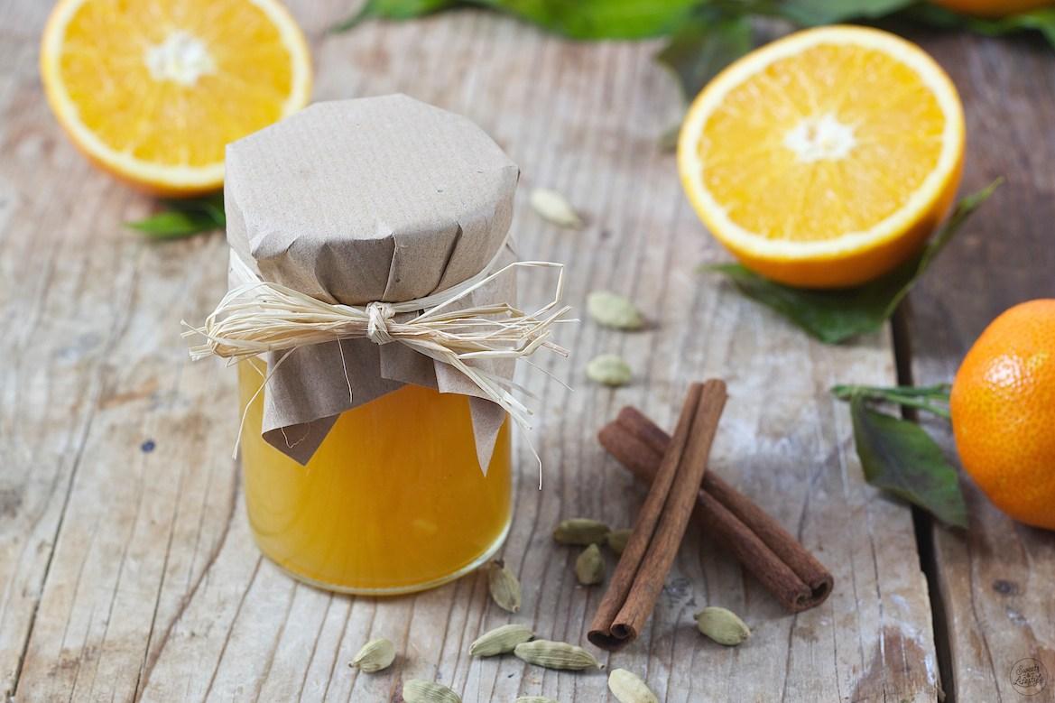 Orangenmarmelade mit Kardamom und Zimt - Sweets & Lifestyle®