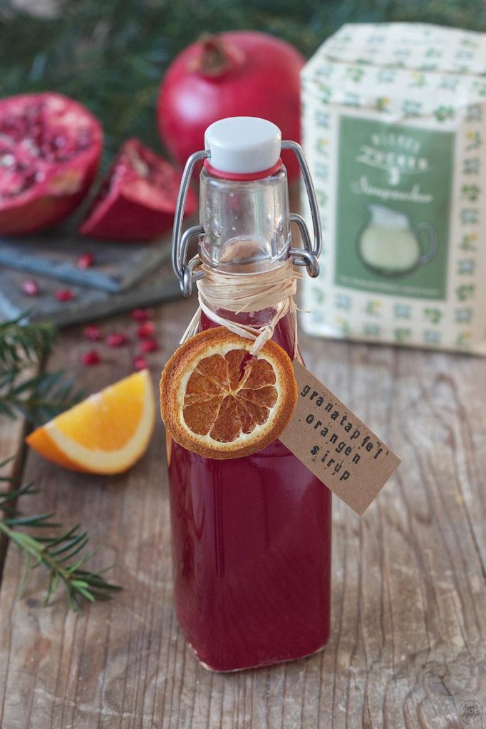 Selbst gemachter Granatapfel Sirup von Sweets & Lifestyle®
