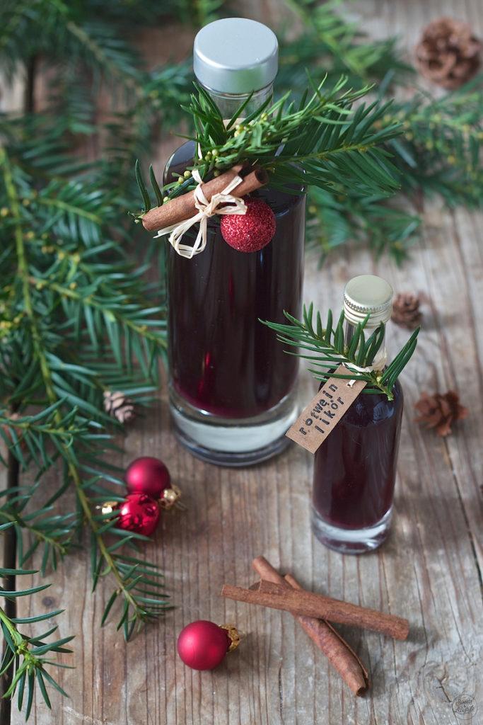 Selbst gemachter Rotweinlikör von Sweets & Lifestyle®