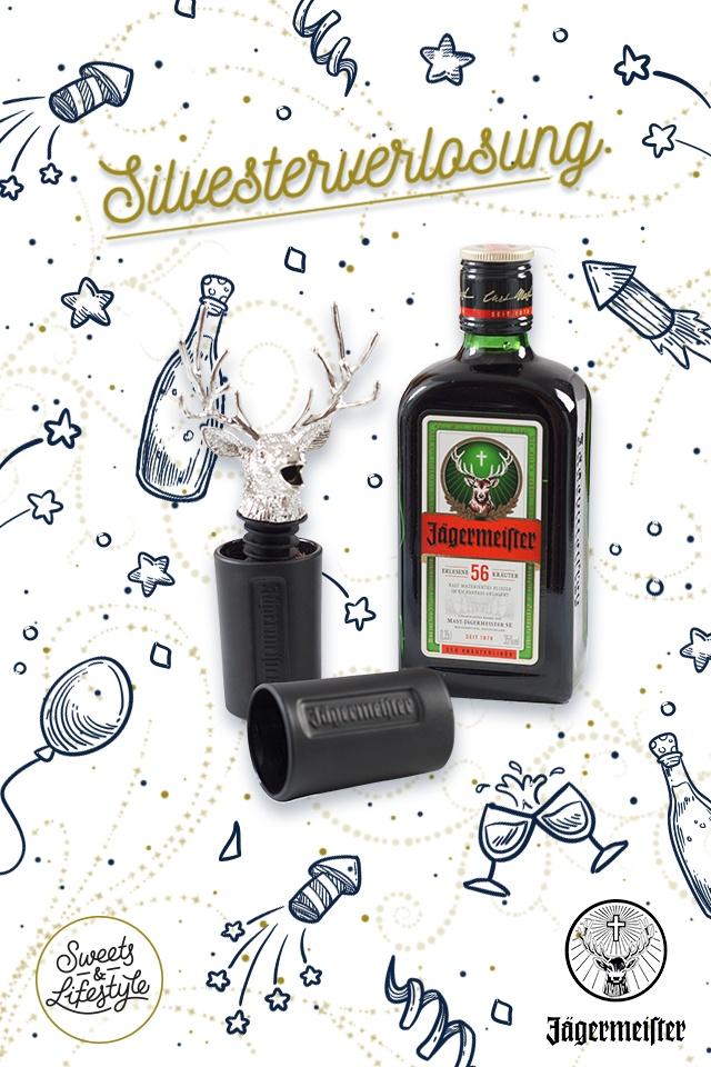 Silvestverlosung von Jägermeister Packages bei Sweets & Lifestyle®