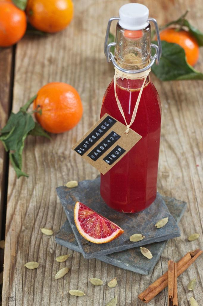 Erfrischender Blutorangensirup mit Kardamom von Sweets & Lifestyle®