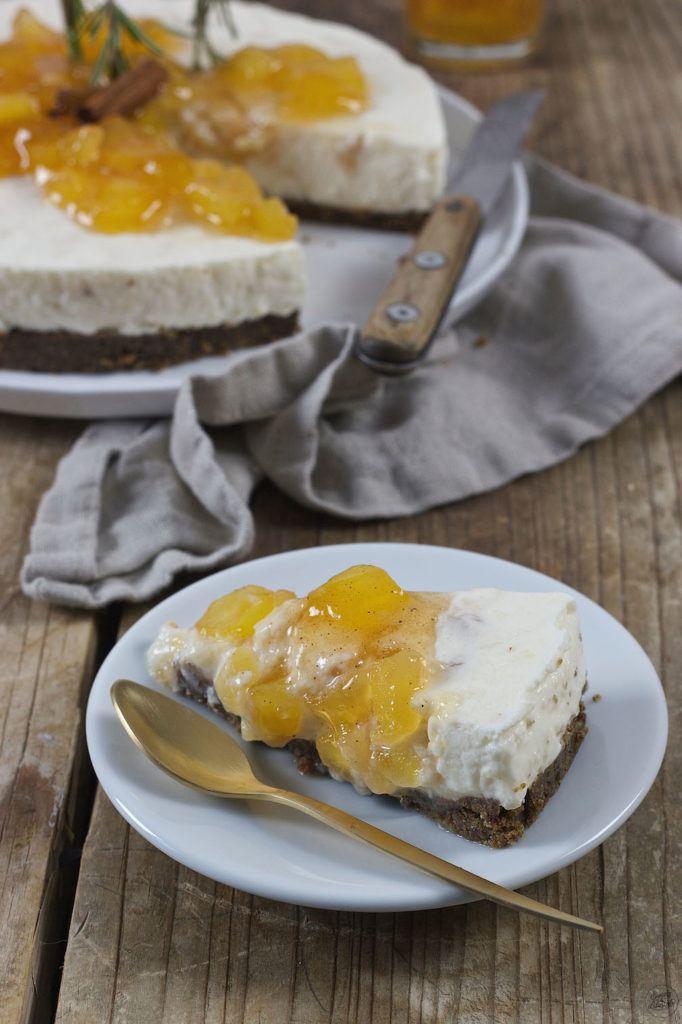 Bratapfel Joghurt Keksreste Torte von Sweets & Lifestyle®
