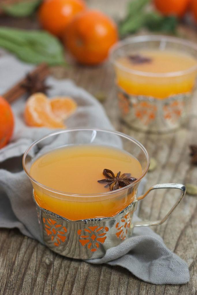 Fruchtiger alkoholfreier Mandarinenpunsch von Sweets & Lifestyle®