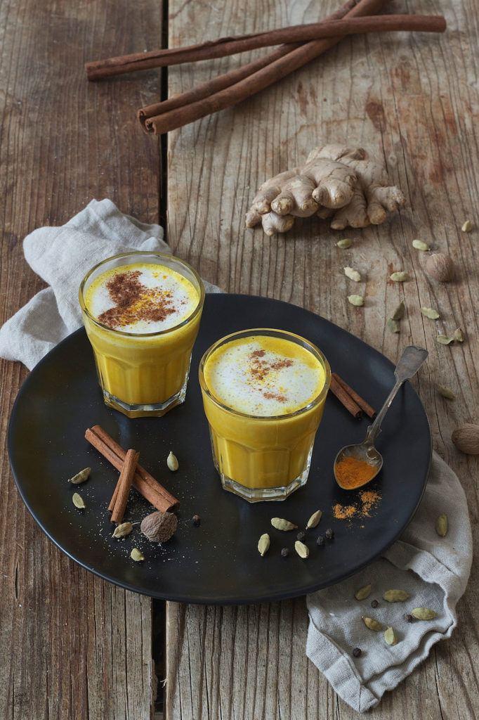Goldene Milch auch unter Kurkuma Latte bekannt von Sweets & Lifestyle®