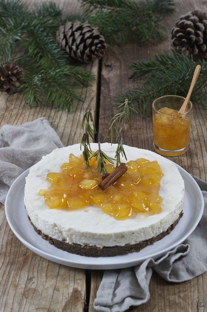Keksreste Torte mit Joghurt und Bratapfelmarmelade von Sweets & Lifestyle®