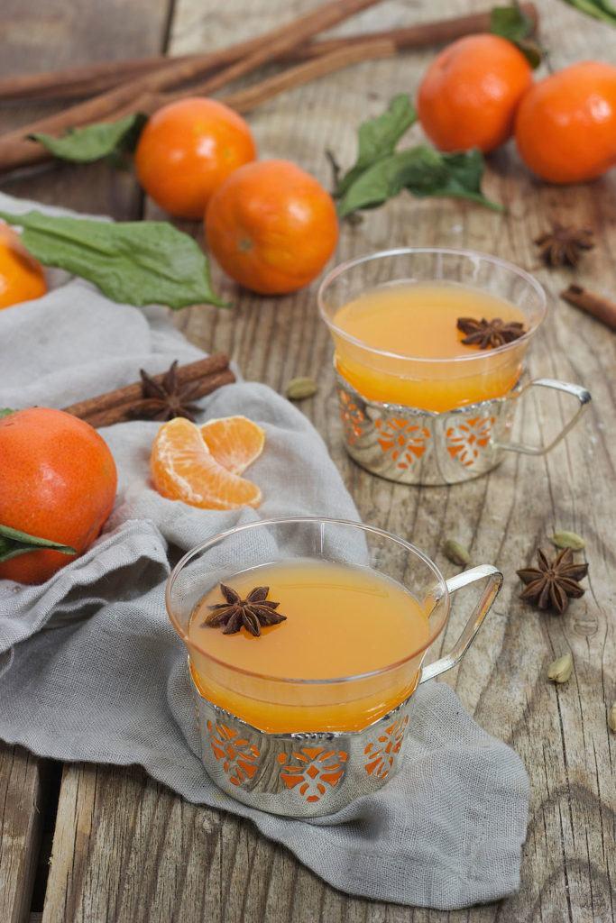 Mandarinenpunsch mit weißem Rum von Sweets & Lifestyle®