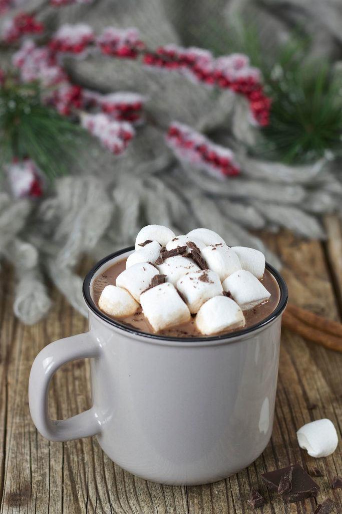 Marshmallow Hot Chocolate auch Heiße Schokolade mit Marshmallows genannt von Sweets & Lifestyle®