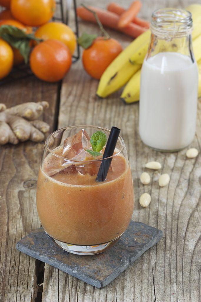 Rezept für einen erfrischenden Orangen Smoothie mit Karotten von Sweets & Lifestyle®