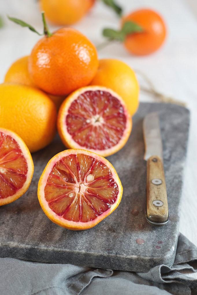 Saftige Blutorangen für den Blutorangen Gin Cocktail von Sweets & Lifestyle®