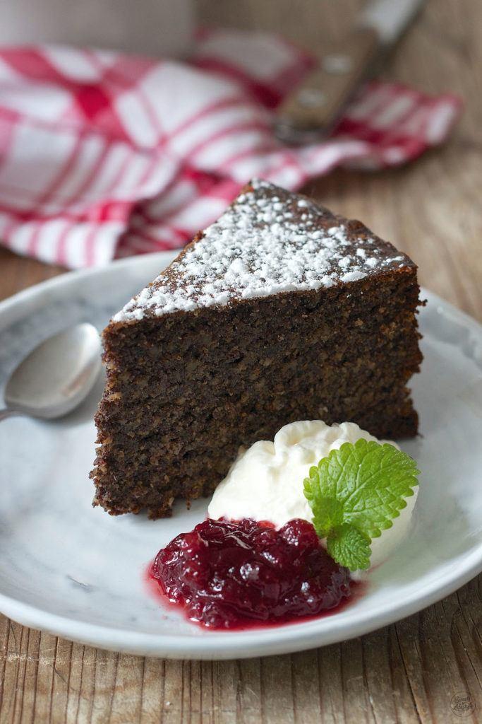 Saftiger, glutenfreier low carb Mohnkochen ohne Mehl von Sweets & Lifestyle®