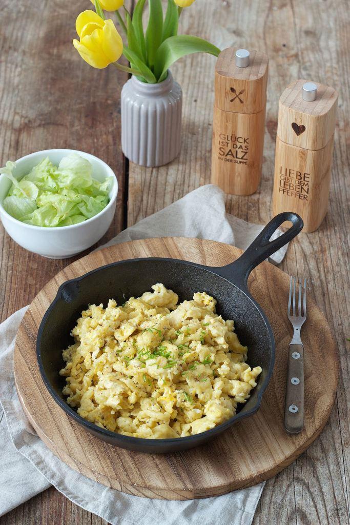 Rezept für Eiernockerl mit grünem Salat von Sweets & Lifestyle®