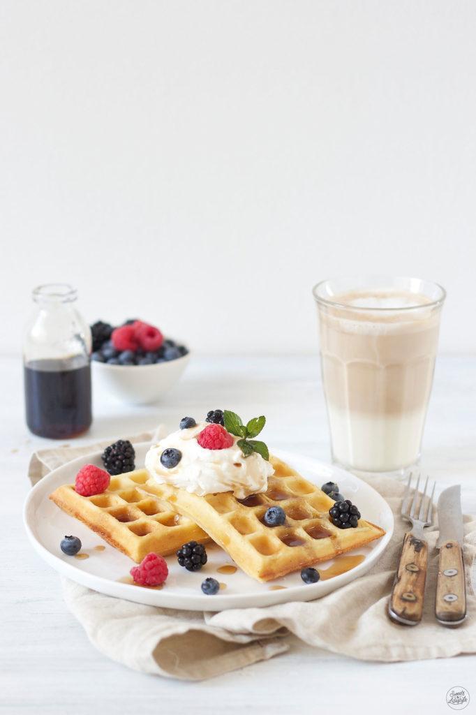 Fluffige saftige Waffeln mit Vanille von Sweets & Lifestyle®