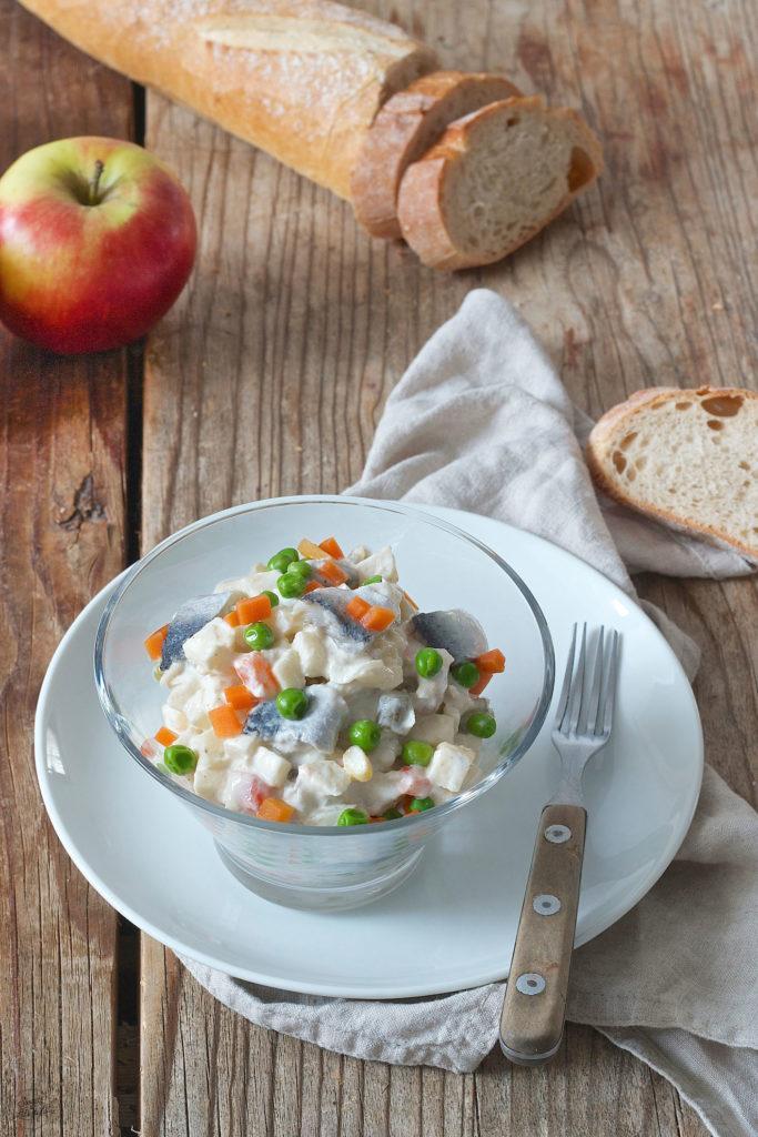 Rezept für einen Heringssalat mit Apfel von Sweets & Lifestyle®