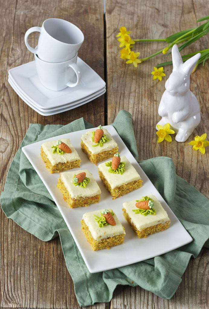Karottenkuchen Rublikuchen Mit Frosting Rezept Sweets Lifestyle