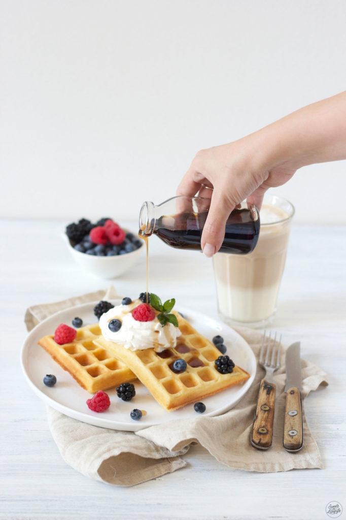 Rezept für schnelle Vanille Waffeln von Sweets & Lifestyle®