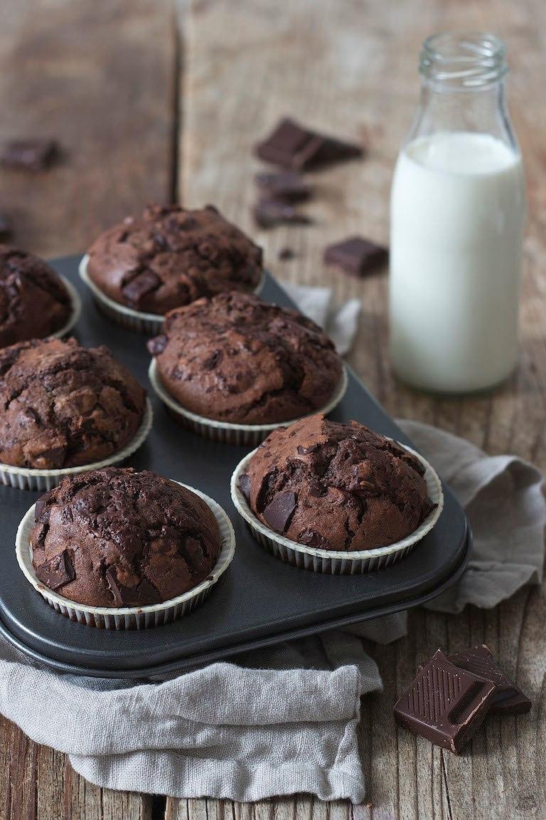 Saftige Schokomuffins Rezept Sweets Lifestyle