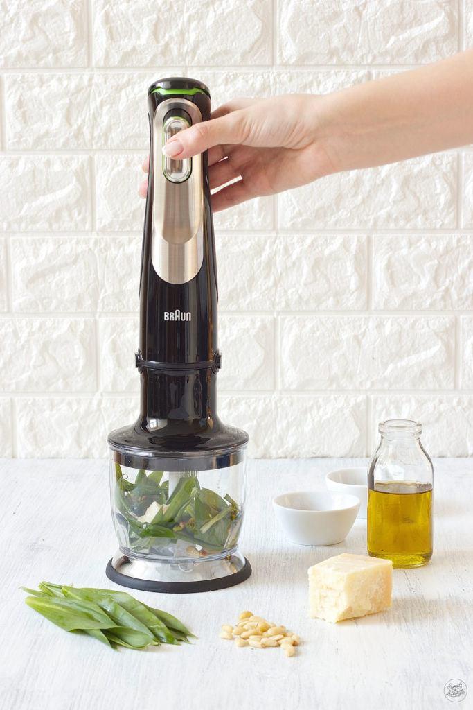Bärlauchpesto selber machen ist ganz einfach nach dem Rezept von Sweets & Lifestyle®