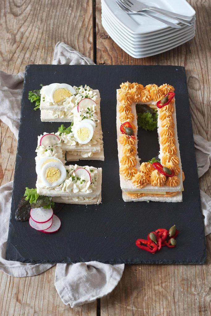 Zahlen Brottorte (Number Cake) von Sweets & Lifestyle®