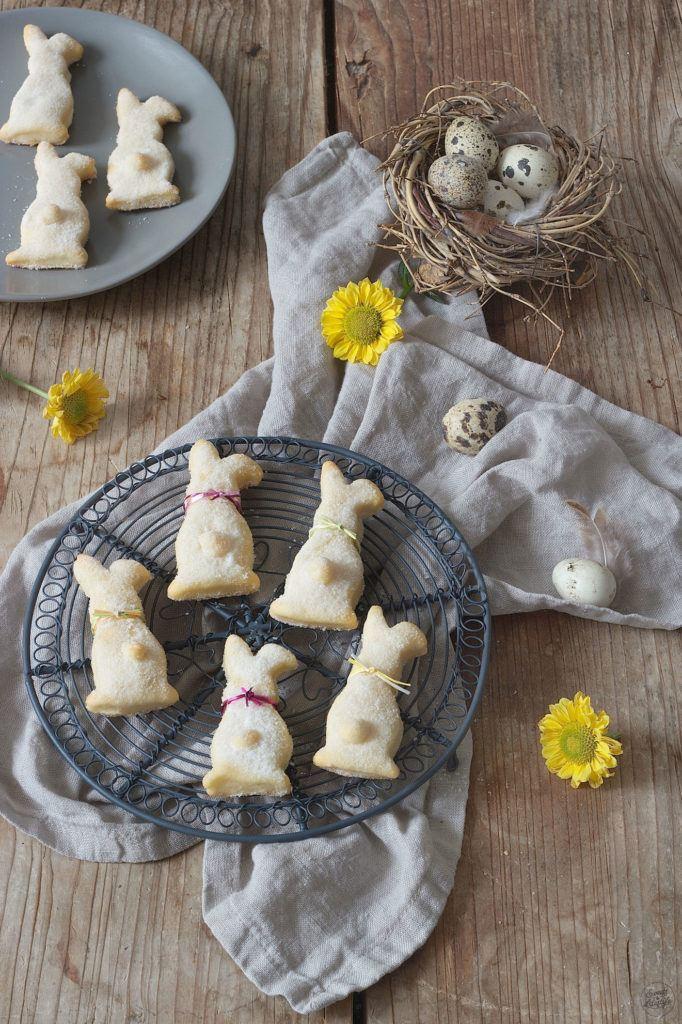 Gezuckerte Osterhasen aus Topfen Öl Teig von Sweets & Lifestyle®