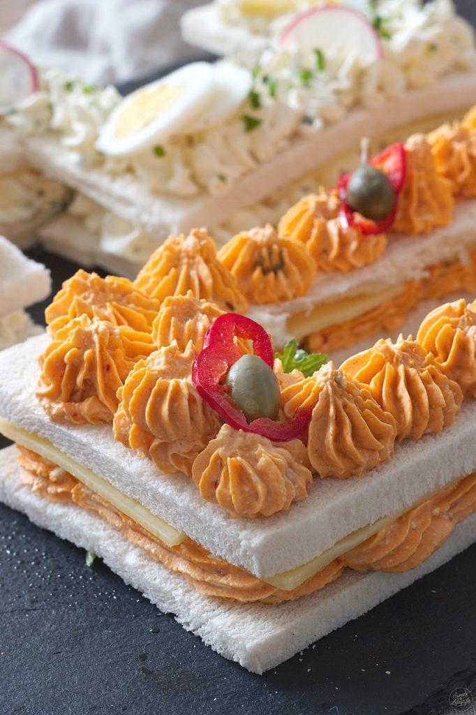 Number Cake in pikanter Variante mit Aufstrichen von Sweets & Lifestyle®