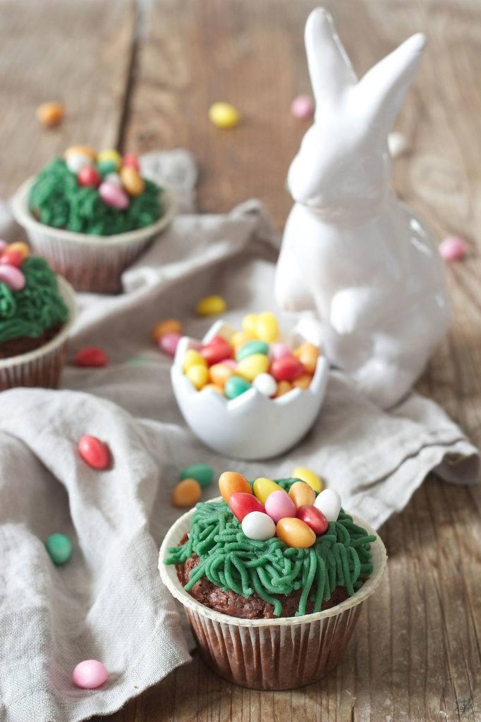 Osternest Cupcakes für Ostern von Sweets & Lifestyle®