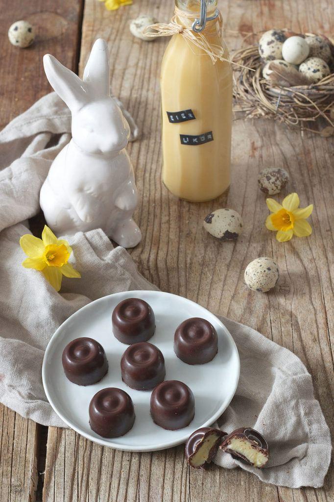 Selbst gemachte Eierlikör Pralinen nach einem Rezept von Sweets & Lifestyle®