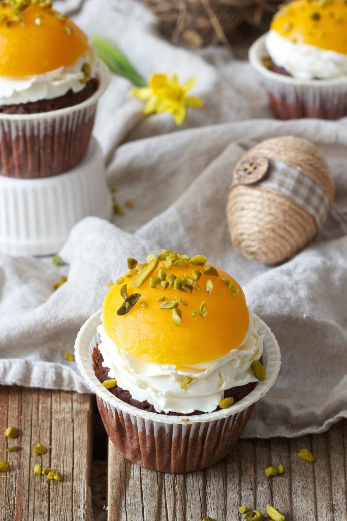 Spiegelei Cupcake für den Osterbrunch nach einem Rezept von Sweets & Lifestyle®