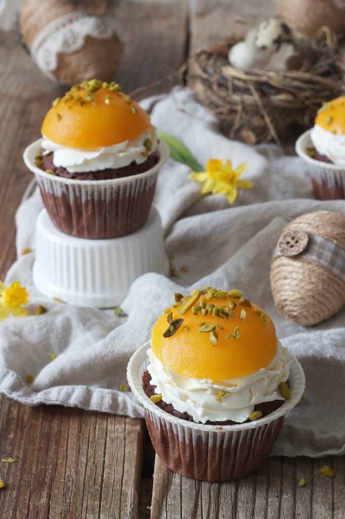 Spiegelei Cupcakes für Ostern oder den Kindergeburtstag von Sweets & Lifestyle®