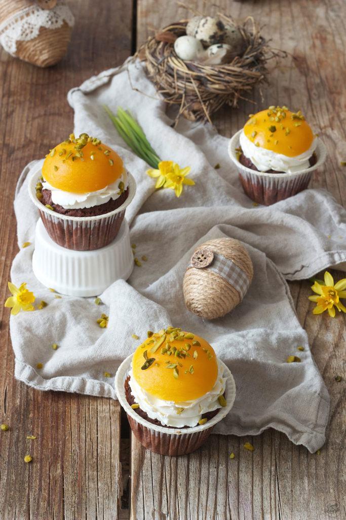 Spiegeleier Cupcakes als Ostercupcakes von Sweets & Lifestyle®