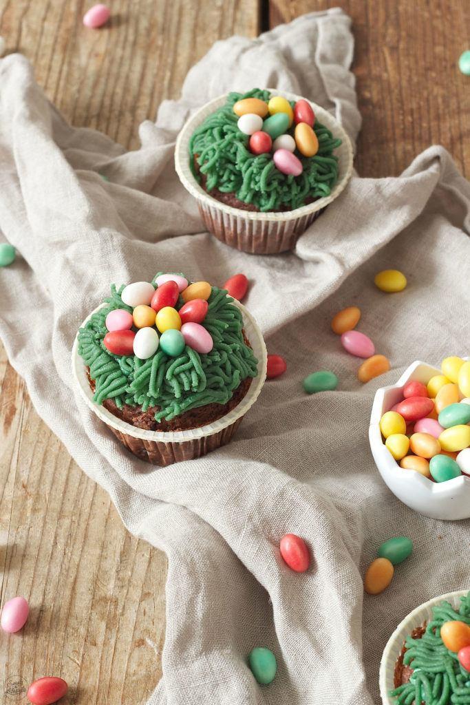 Süsse Osternest Cupcakes von Sweets & Lifestyle®