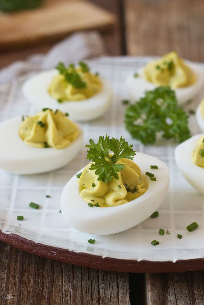 Gefüllte Eier mit Kräutercreme Rezept von Sweets & Lifestyle®