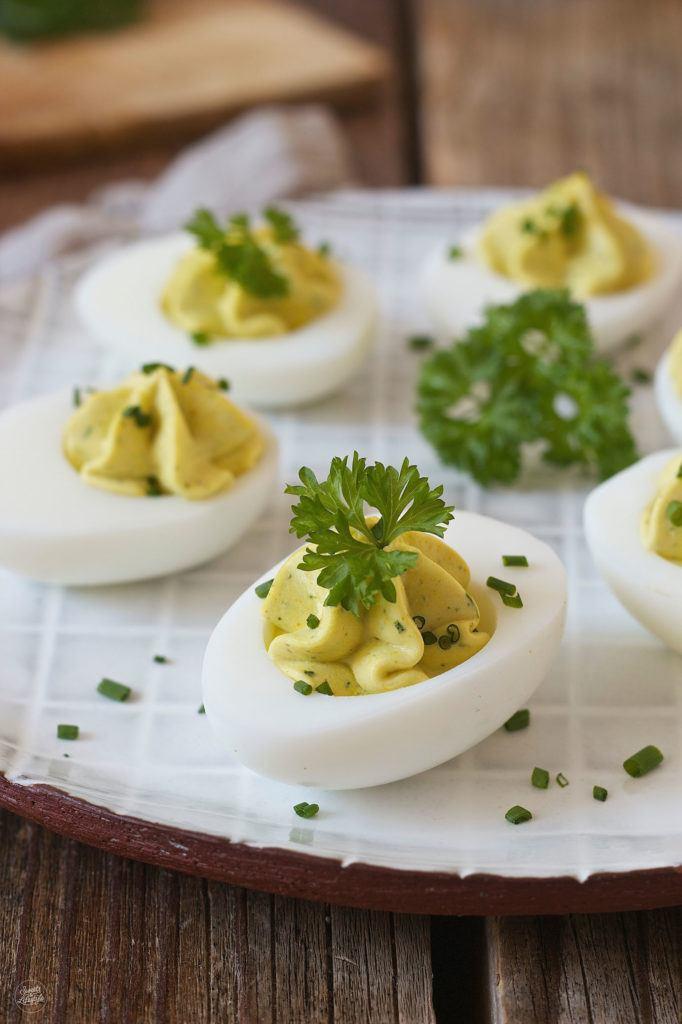 Gefüllte Eier mit Kräutercreme nach einem Rezept von Sweets & Lifestyle®