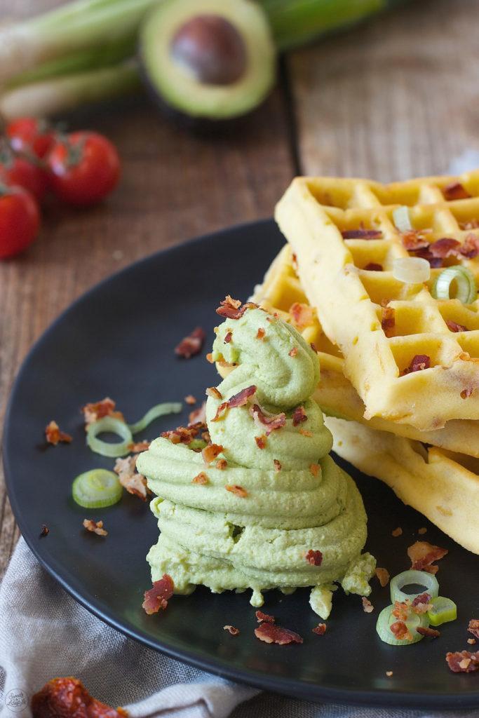 Avocado Feta Sorbet mit dem Tupperware® Sorbet Meister gemacht von Sweets & Lifestyle®