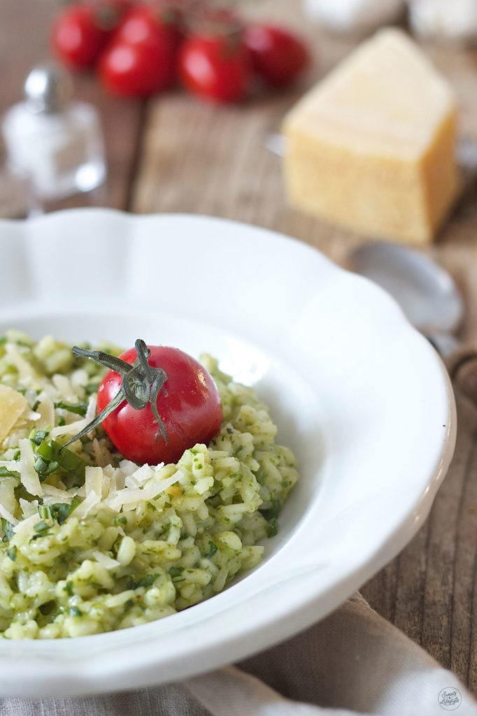 Cremiges Bärlauchrisotto mit gerösteten Tomaten von Sweets & Lifestyle®