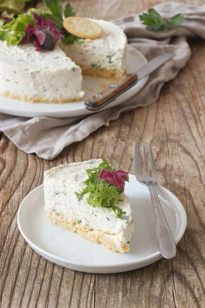 Pikanter Cheesecake mit Schinken und Kräutern von Sweets & Lifestyle®
