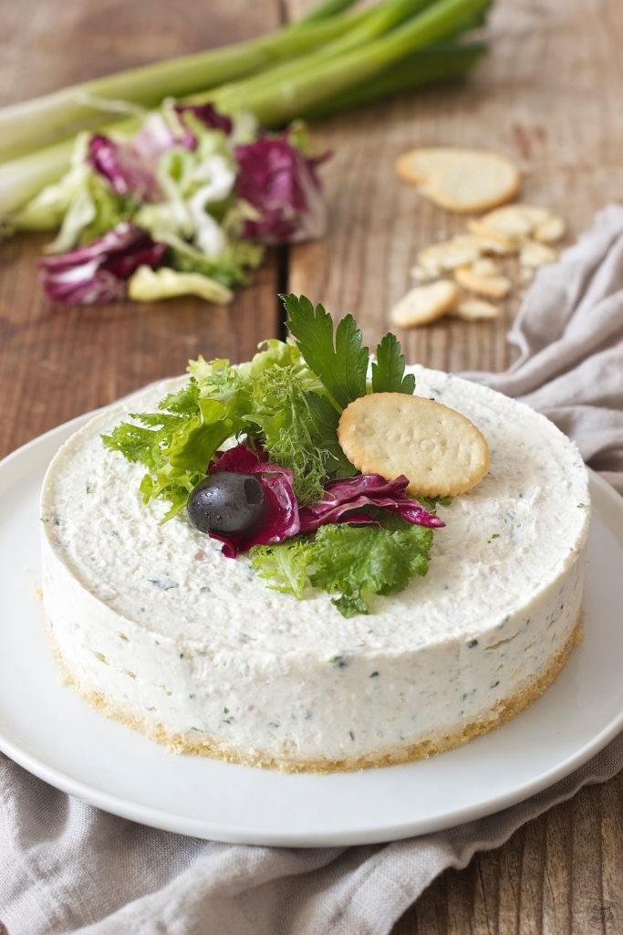 Rezept für einen pikanten Cheesecake von Sweets & Lifestyle®