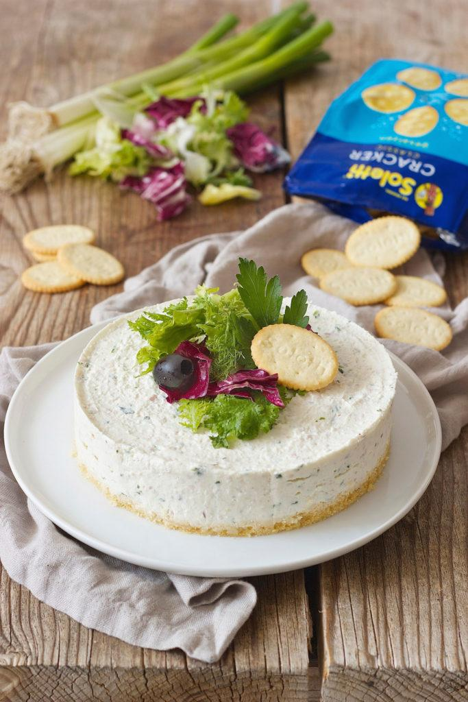 Pikanter Cheesecake mit Soletti Crackern von Sweets & Lifestyle®