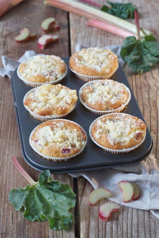 Rhabarber Muffins Rezept von Sweets & Lifestyle®