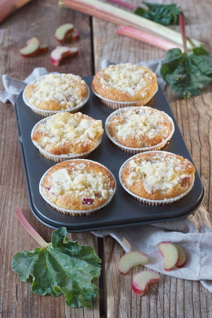 Leckeres Rhabarber Muffins Rezept von Sweets & Lifestyle®