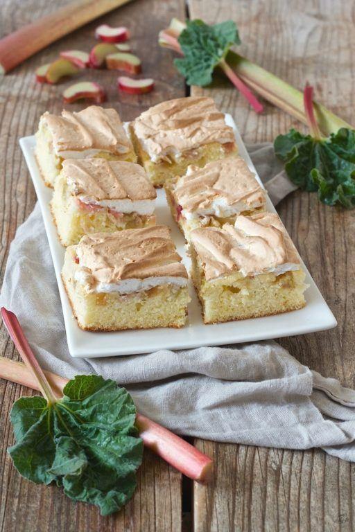 Rhabarberkuchen mit Baiserhaube von Sweets & Lifestyle®