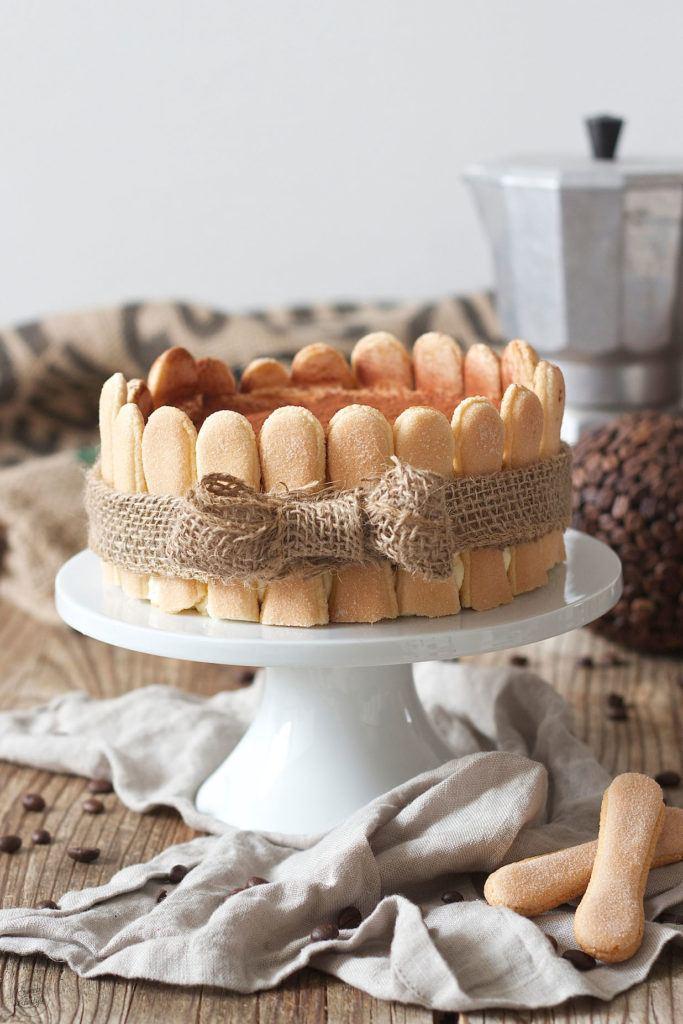 Tiramisutorte Rezept mit Mascarpone ohne Ei von Sweets & Lifestyle®