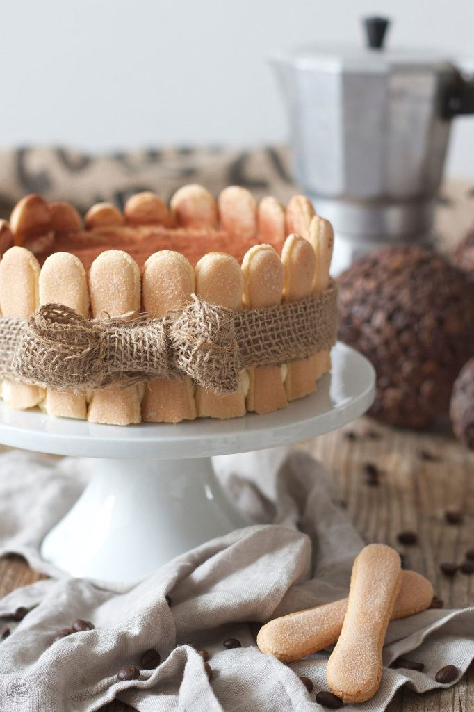 Tiramisutorte ohne Ei nach einem Rezept von Sweets & Lifestyle®