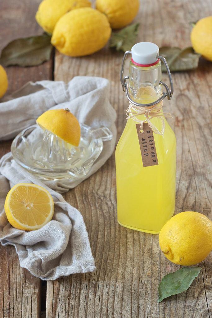 Zitronensirup selber machen nach dem Rezept von Sweets & Lifestyle®