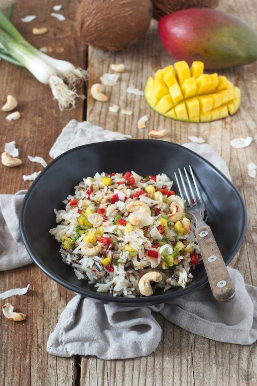 Bunter Reissalat nach einem Rezept von Sweets & Lifestyle®