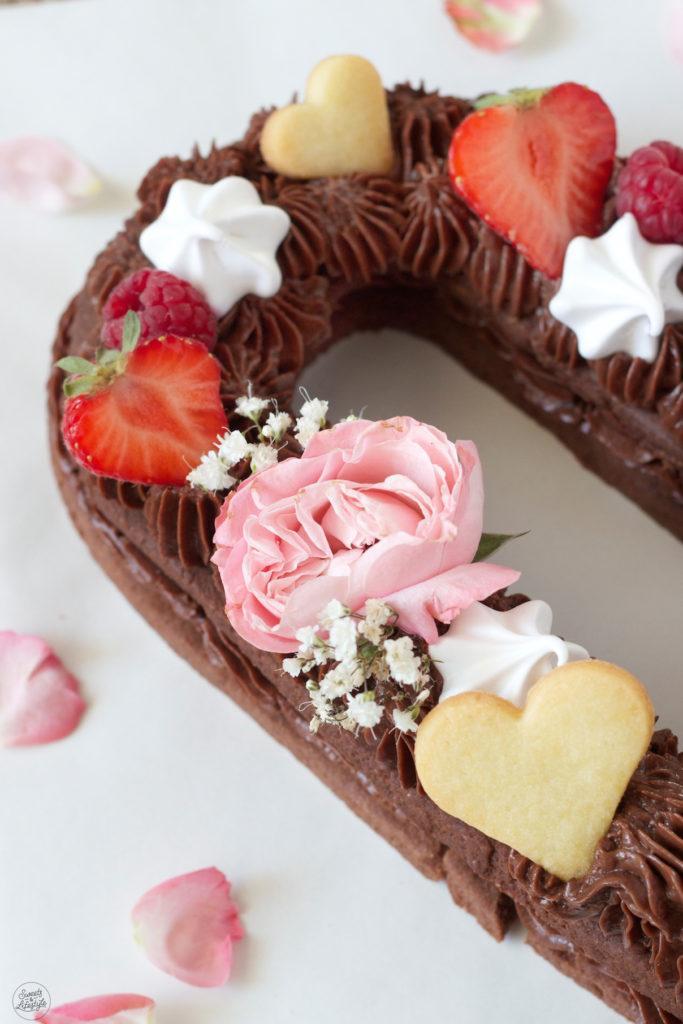 Cream Tarte bzw. Letter Cake Rezept von Sweets & Lifestyle®