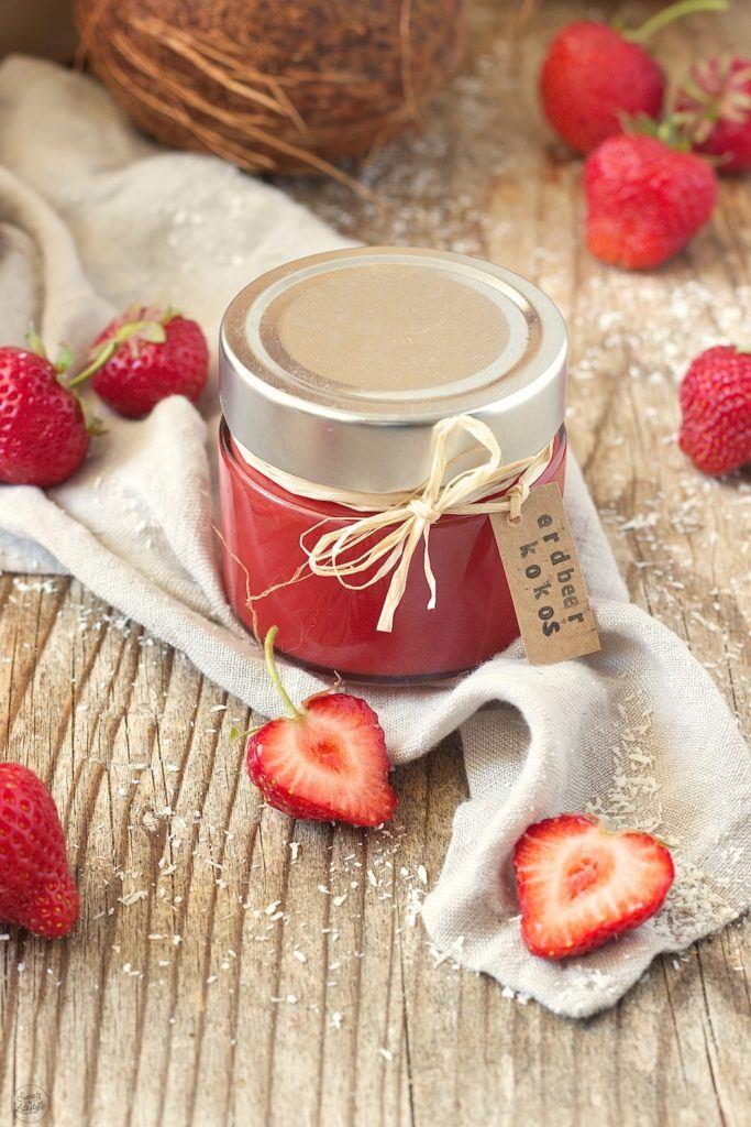 Erdbeer Kokos Konfitüre von Sweets & Lifestyle®