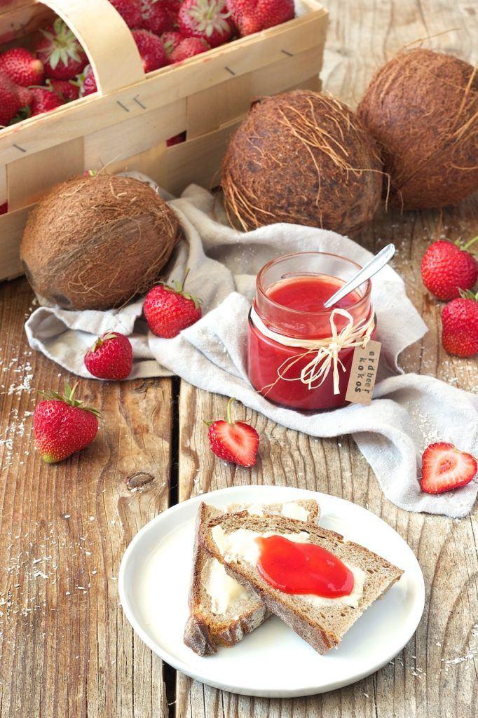 Erdbeer Kokos Marmelade von Sweets & Lifestyle®
