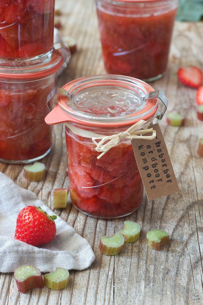 Erdbeer Rhabarber Kompott von Sweets & Lifestyle®