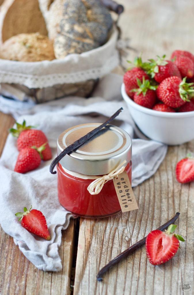 Erdbeer-Vanille-Marmelade nach einem Rezept von Sweets & Lifestyle®