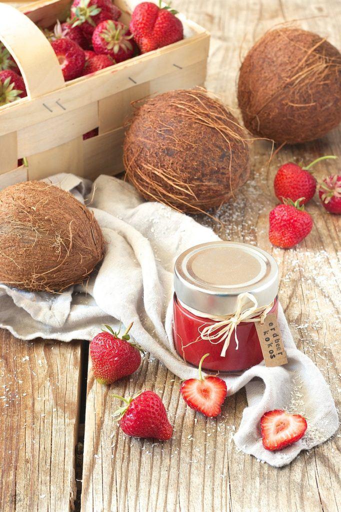 Erdbeermarmelade mit Kokosmilch von Sweets & Lifestyle®